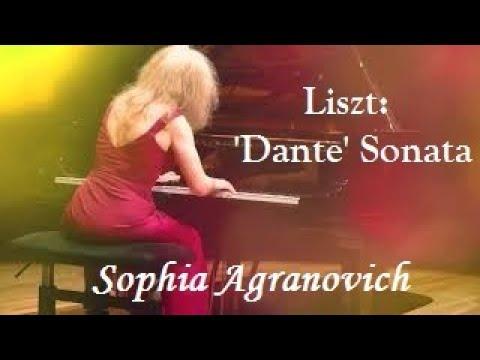 Liszt. Après une Lecture du Dante: Fantasia quasi Sonata - Sophia Agranovich at Pennautier
