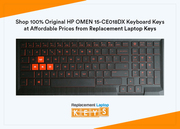 Shop 100% Original HP OMEN 15-CE018DX Keyboard Keys at Affordable Prices from Replacement Laptop Keys