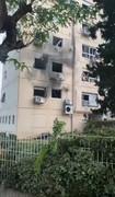 S-40 Rocket Hits Apartment Complex in Jerusalem