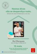WORKSHOP: Acrescentar às receitas a Pitada do Pai resulta em pratos deliciosos e saudáveis