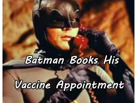 Batman Books His Vaccine Appointment