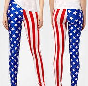 Amazon Giveaway - Enter to win a free pair of Stars and Stripes Leggings X-Small