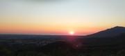 lever de soleil du chemin du vilar