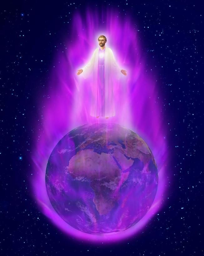 St. Germain and The Violet Flame