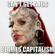CAN'T GET A JOB ---DUH
