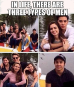 In Life,There's Three Kinds Of Men