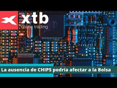 La ausencia de chips podría afectar a la Bolsa