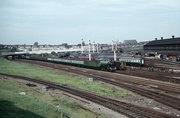 Wood Green carriage sidings, 1967