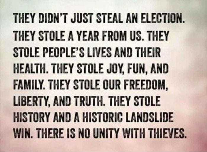 They Didn't Just Steal An Election