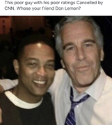 Don and a special friend. Good riddance.