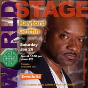 """Legendary"" RAYFORD GRIFFIN ""Jazz Drummer"" @ The 'new' World STAGE Sat. Jan., 26th 9PM ~"