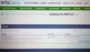 Registro de Perito no MPSC - Ministério Público de Santa Catarina