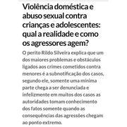 A realidade dos menores vitimas e o modus operandi dos agressores e dos abusadores