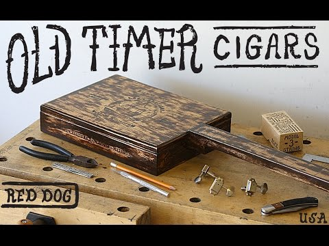 The 1880's Old Timer ~ Cigar Box Guitar ~ Model -3-