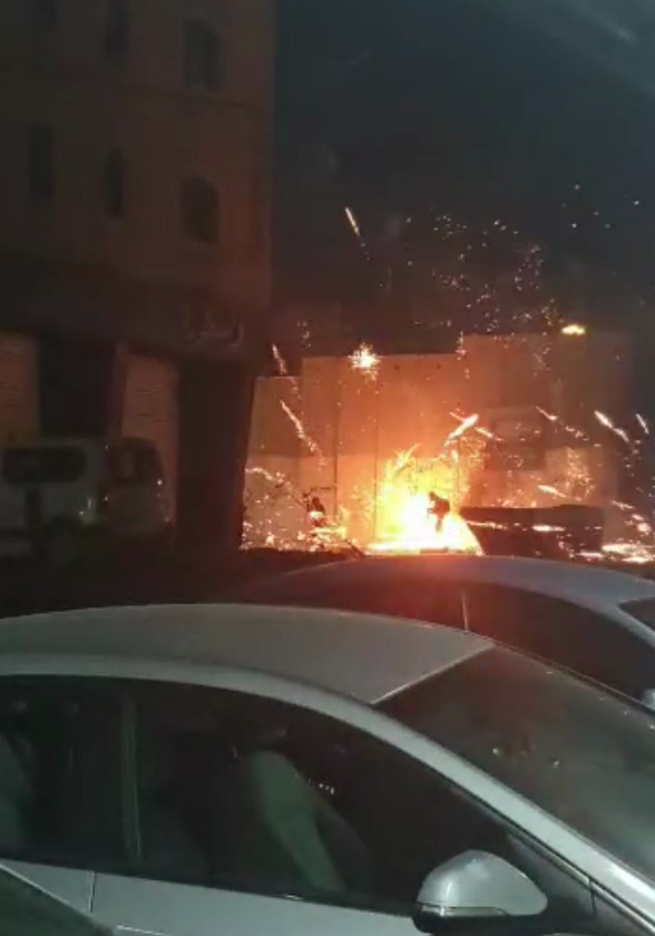 May 15th, 2021 - IDF Confronted by Palestinian Youths With Fireworks and Molotovs