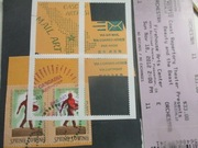 Cascadia ticket and selvages