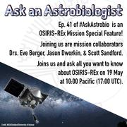 Ask an Astrobiologist: OSIRIS-REx Special Episode!