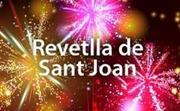 """Dc.23"""" Revetlla Sant Joan a Rt.Arenal. """"El millor lloc per l'ambient de la Revetlla""""i gaudir de la millor companyia"""