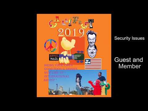Security and Lodging at CaliFest 2019