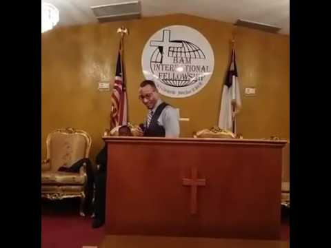 Apostle Louis Gordon Jr- Times of Refreshing- Grace On Purpose Ministries International Inc.