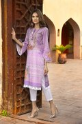 Unstitched Embroidered Lawn Shirt for Women - BuyZilla.pk