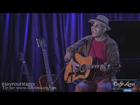 Guy Davis - Song about Black Wall Street, Tulsa, 1921 - Live at Caffe Lena
