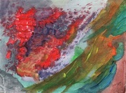 awyn -  Abstract painted postcard
