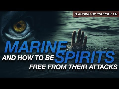 Marine Spirits and how to be free from their attacks/ Prophet Ed Citronnelli