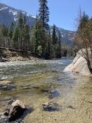 Yosemite golden river