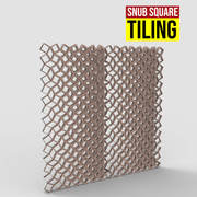 Snube Square Tiling