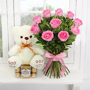 Order Flowers and Chocolates combos