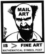 roussopolous' mailart man