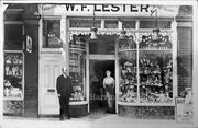 Lester's Tobacconist,  High Road, Wood Green, c1915