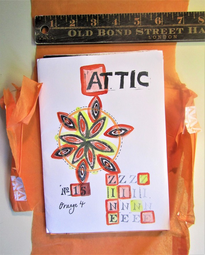 Attic assembling zine (#15) edited by Nicola Winborn (UK)
