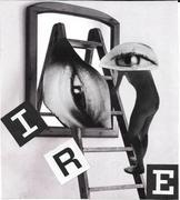"""Ire"" (Dadaist visual poetry collage)"