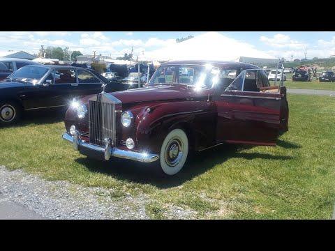 Rolls Royce Display At the 2021 Carlisle Import & Performance