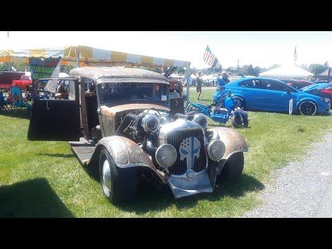 1934 Dodge Panel Sedan Delivery Rat Rod At the 2021 Carlisle Import & Performance
