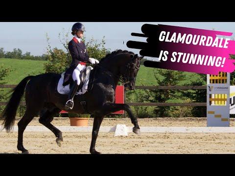 Glamourdale & Charlotte Fry Grand Prix Dressage Highlights