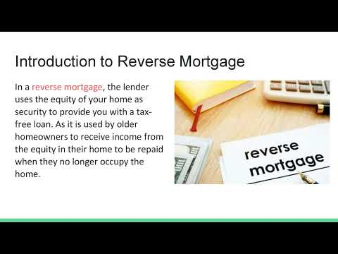 Reverse Mortgage Loan for Senior Citizens in India