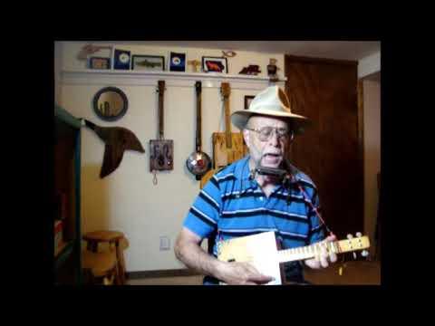 CC Rider ~ cigar box blues mandolin