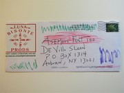 Mail art by Jim Leftwich (Roanoke, Virginia, USA)