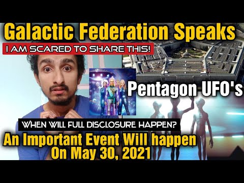 """They said """"Something BIG Is Happening on 30 MAY: Alien Disclosure & Contacts"""" (2021)"""