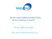 Toilet Hire Gloucester