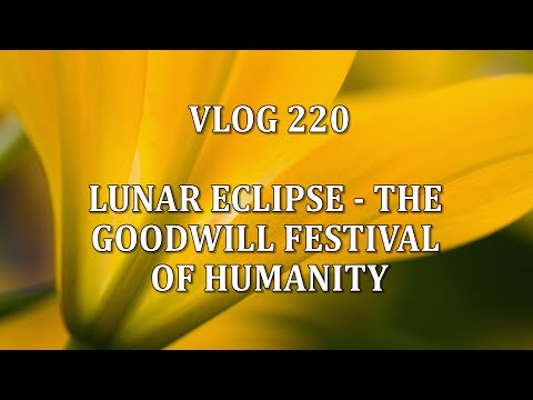 VLOG : LUNAR ECLIPSE - THE GOODWILL FESTIVAL OF HUMANITY