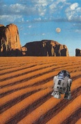 R2D2 Among the Dunes