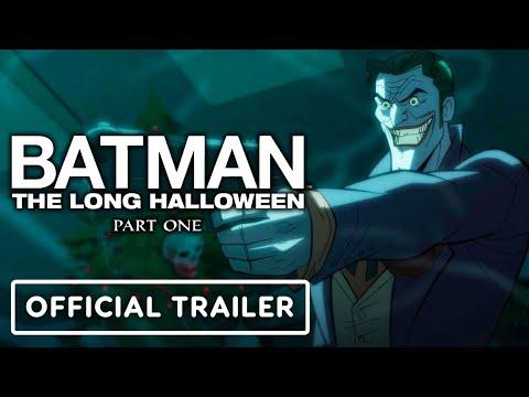Batman: The Long Halloween, Part One - Official Exclusive Trailer (2021) Jensen Ackles, Naya Rivera