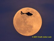 Full Moon over Melbourne Florida
