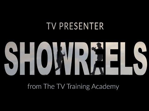 How to become a TV Presenter - TV Presenter Showreels