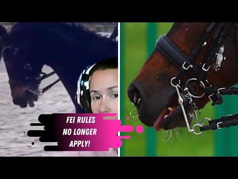 The FEI Abandons Dressage Rule Book: Inessa Merkulova Not Eliminated For Illegal Bit