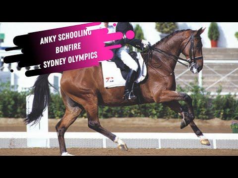 Anky Van Grunsven Schooling Bonfire At The Sydney Olympics
